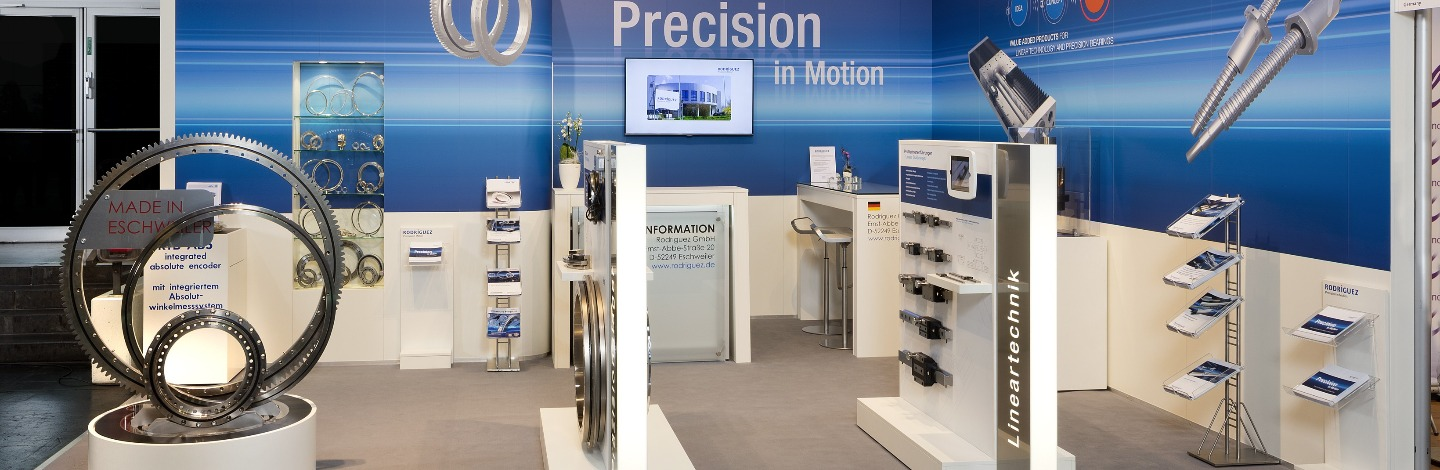 Rodriguez Precision in Motion - Banner